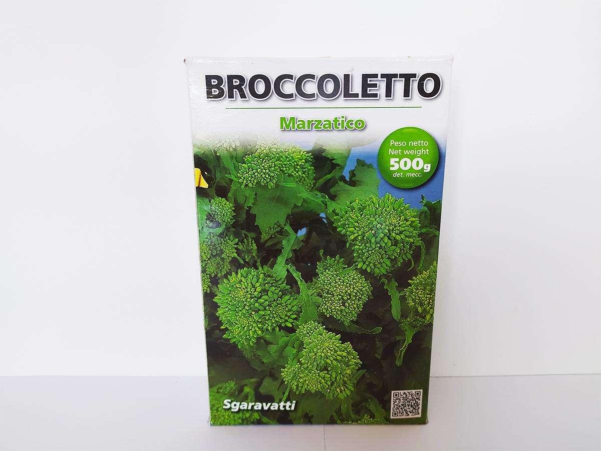 Seme di broccoletto marzatico - Sgaravatti dettaglio