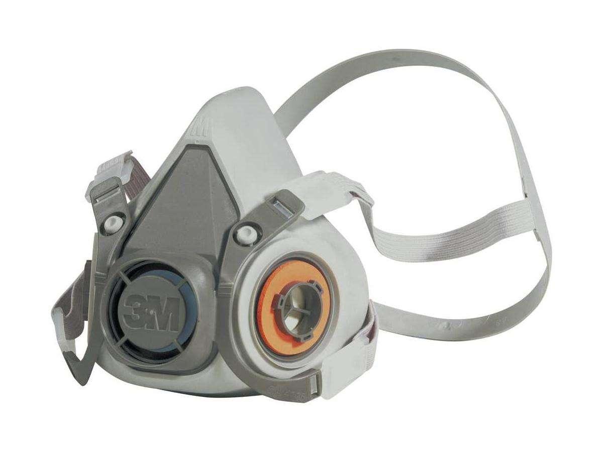 Semimaschera a doppio filtro serie 6000 - 3M