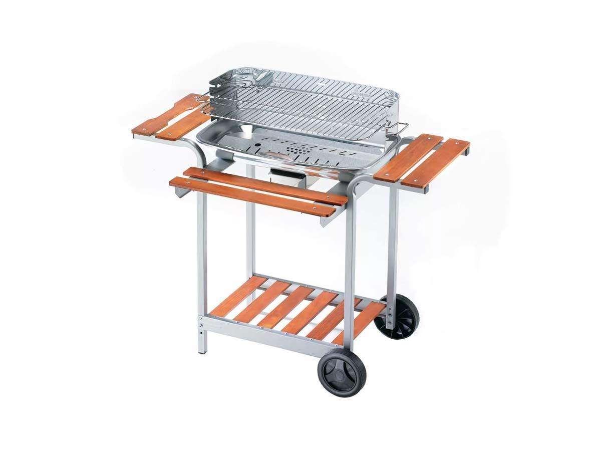 barbecue con riparo aria p piedi fissi