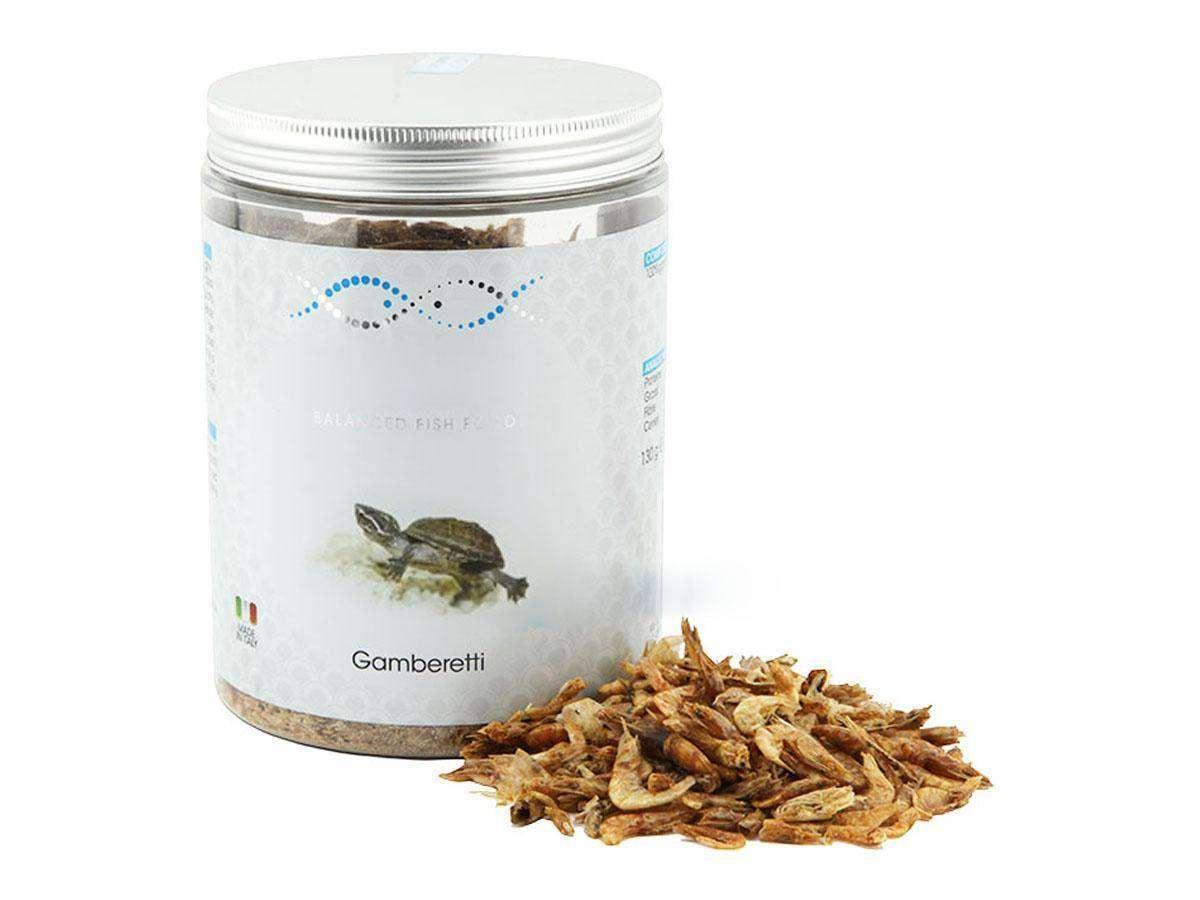 mangime tartarughe gamberetti grammi