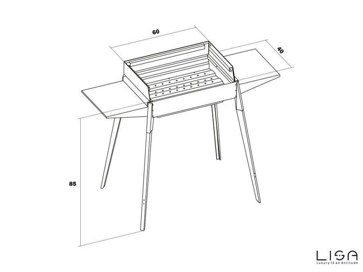 barbecue - serie etna standard disegno