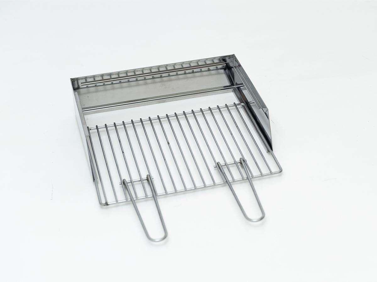 kit paratia e grill accessorio per milano grill