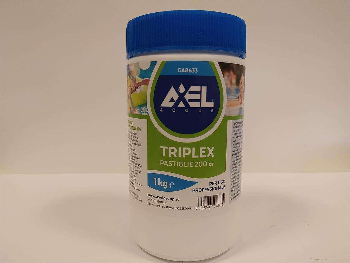 triplex pastiglie da 200gr 1 kg axel
