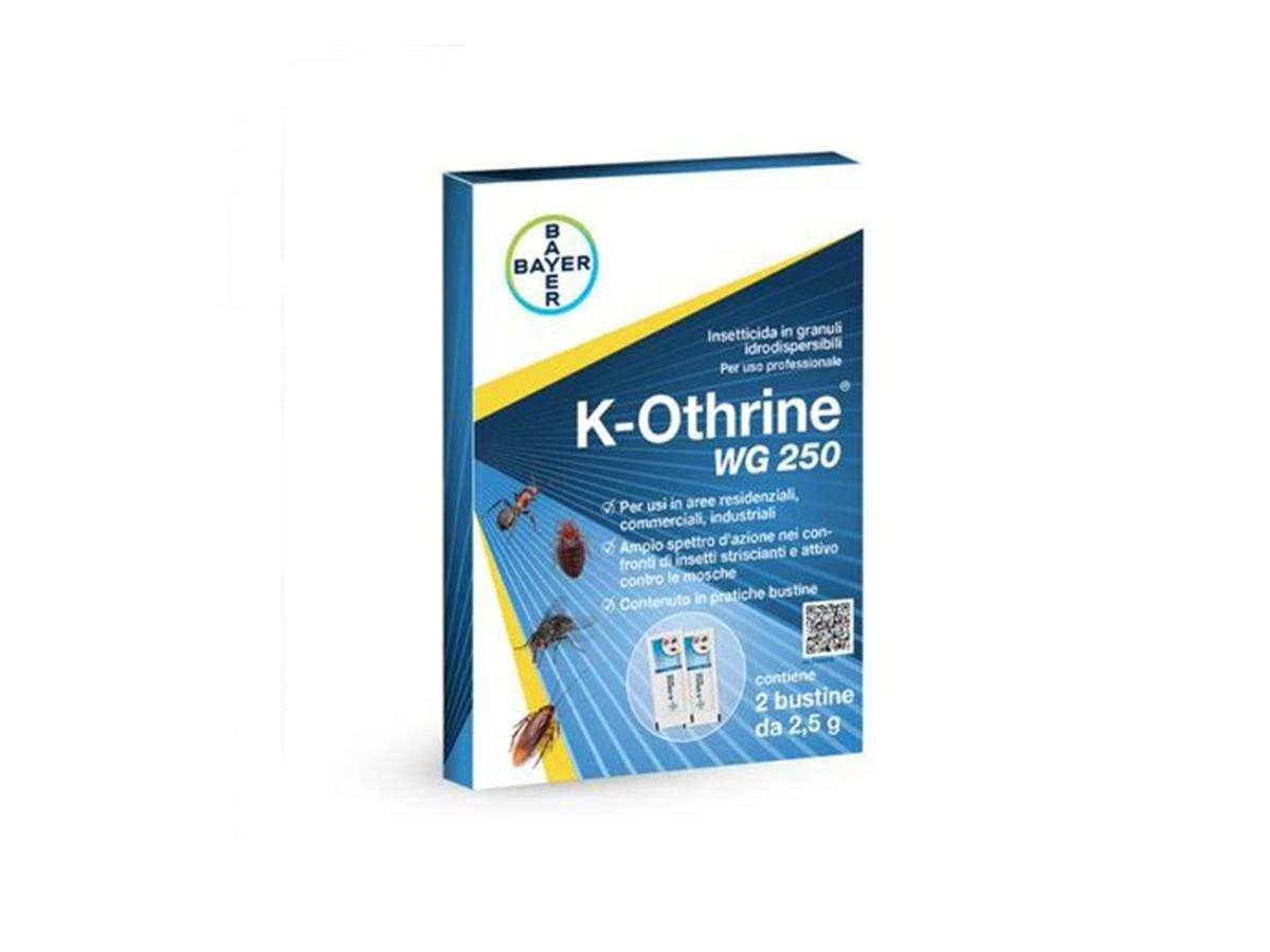 Insetticida in granuli idrodispersibili K-Othrine WG 250 - Bayer