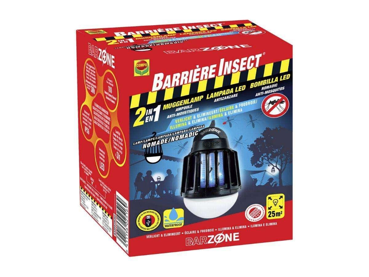 Lampada LED Antizanzare - BARZONE