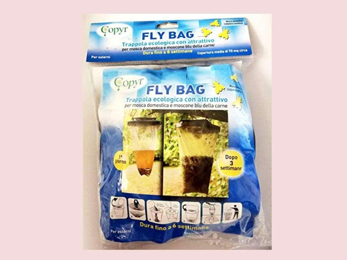 Trappola ecologica con attrattivo Fly Bag - Copyr