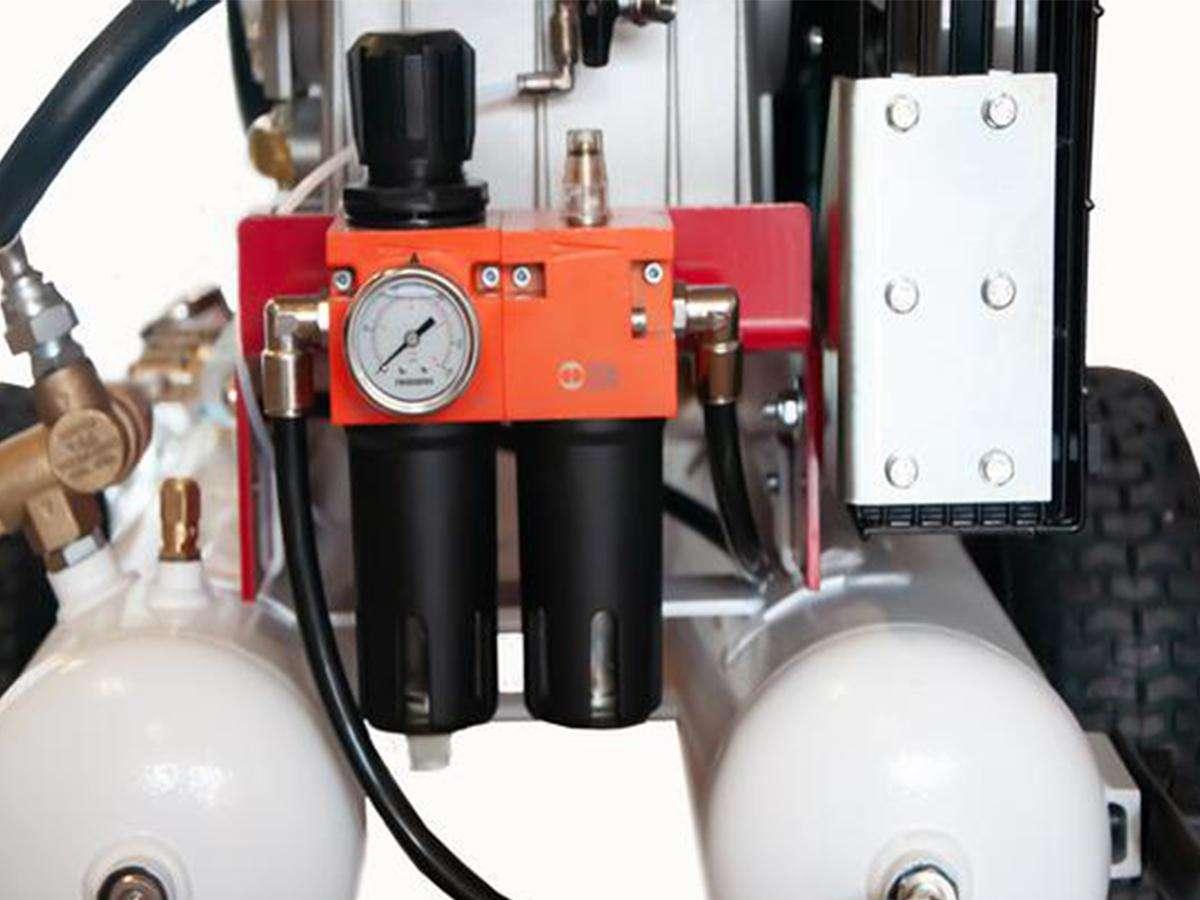 Motocompressore a benzina AURA 650 B - Castellari dettaglio 1
