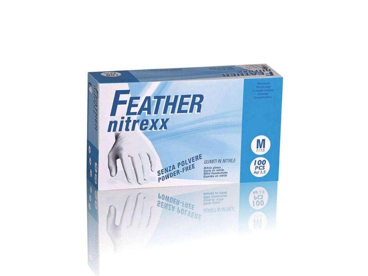 Guanti in nitrile senza polvere FEATHER NITREXX - Reflexx