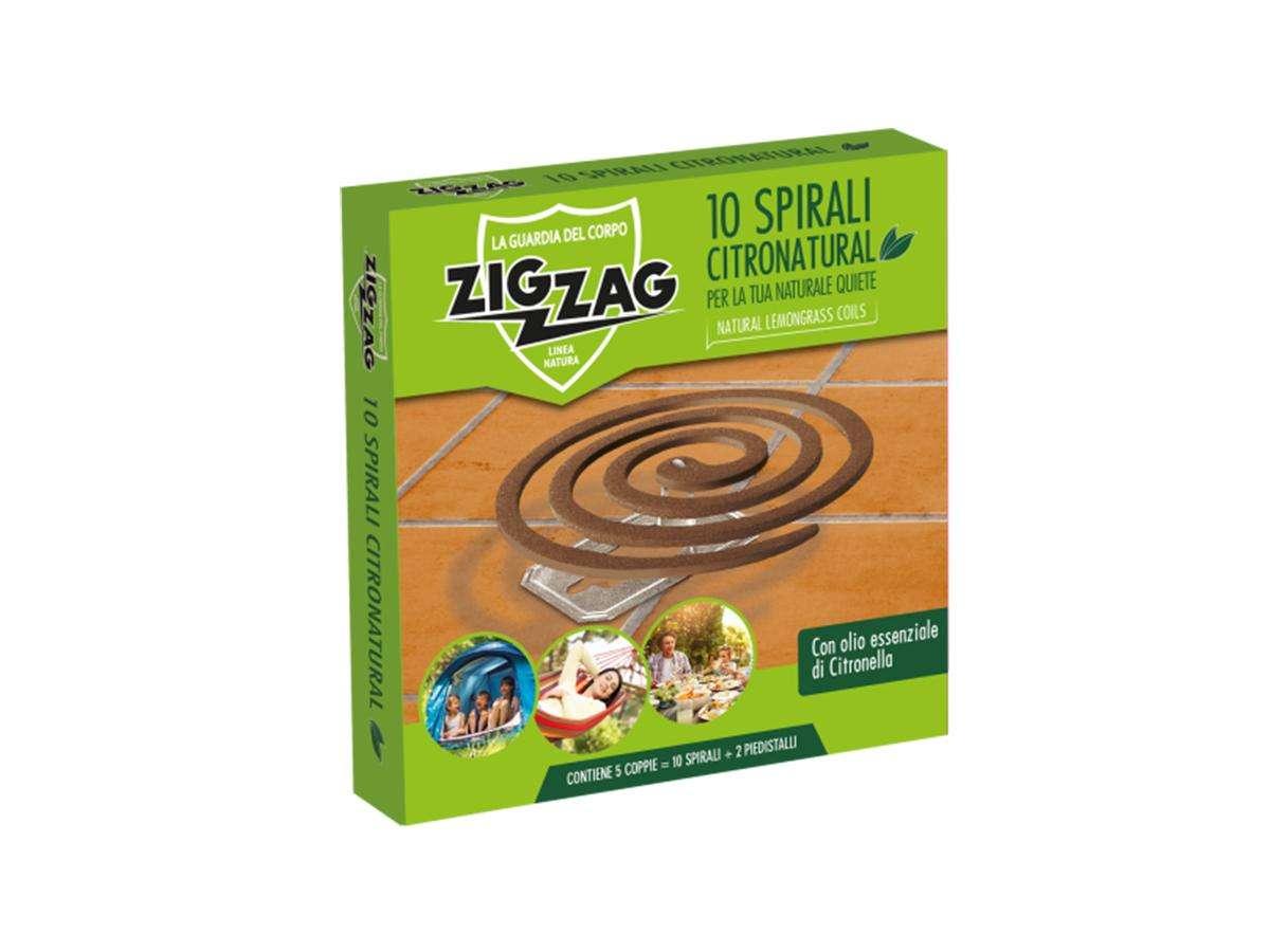 Spirali citronatural antizanzare - Zig Zag