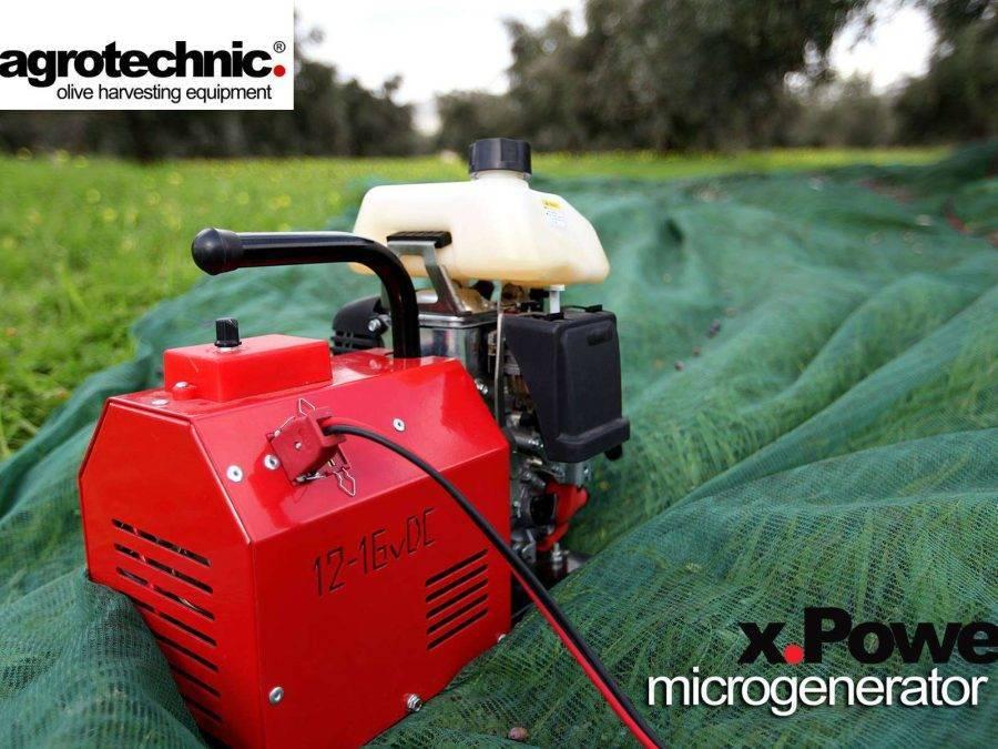 Generatore di corrente X POWER -Agrotechnic dettaglio