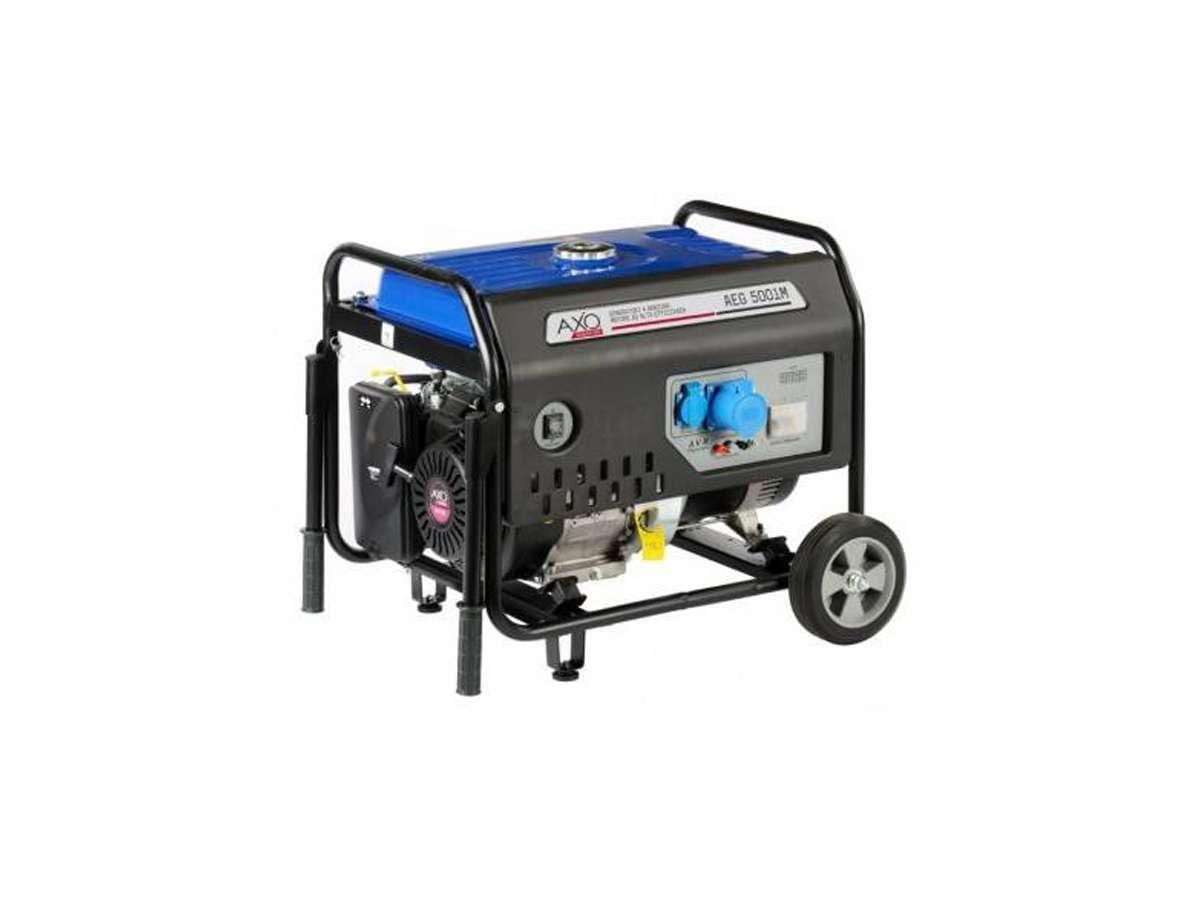 Generatore di corrente semisilenziato AEG 5001M - Axo
