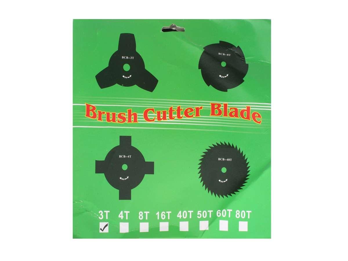Lama per motosega 3 T - Brush Cutter Blade