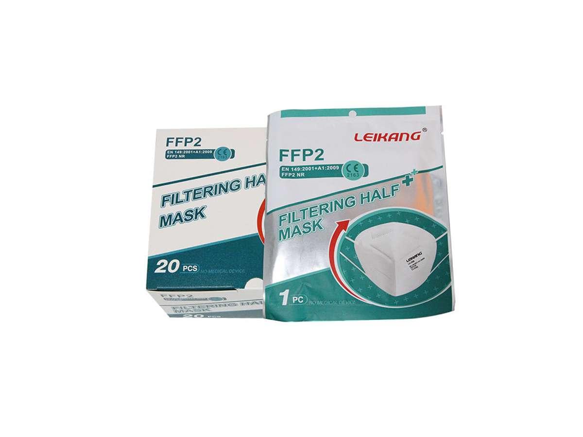 Mascherina FFP2 NR - Leikang dettaglio