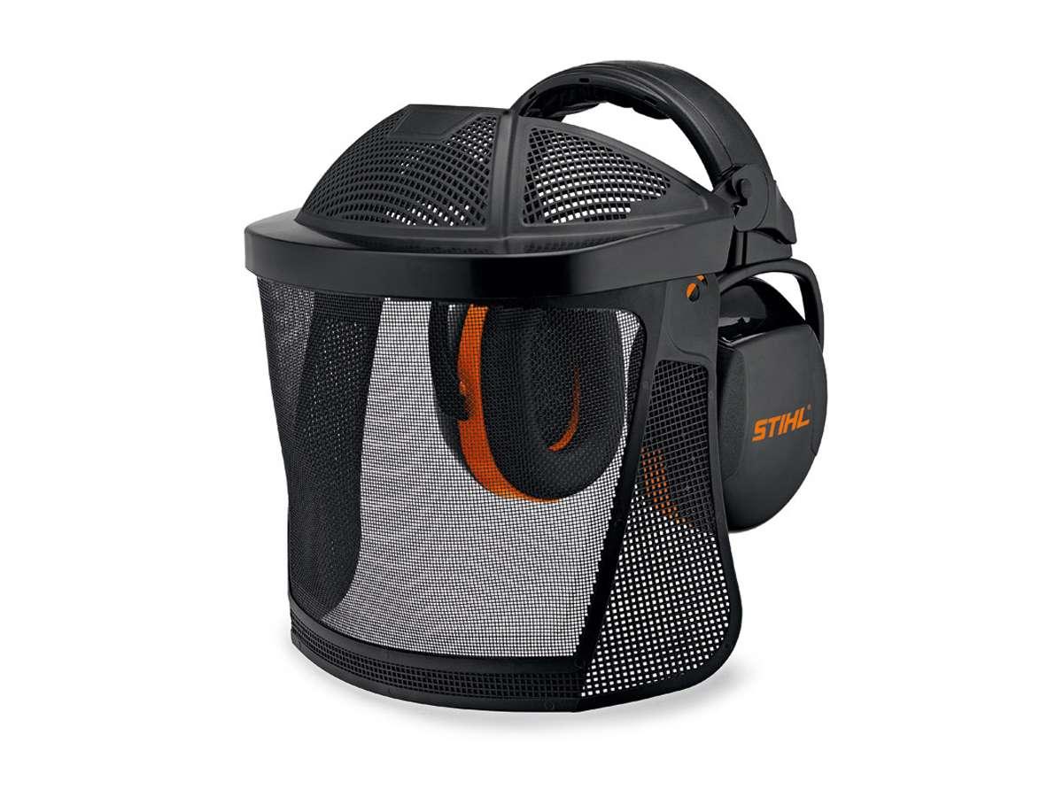 Protezione viso udito con cuffia morbida e reticella in nylon - Stihl