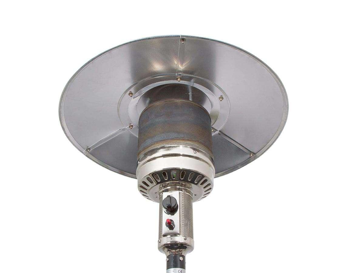 Riscaldatore a gas da esterno PGU2013 White - Qlima dettaglio