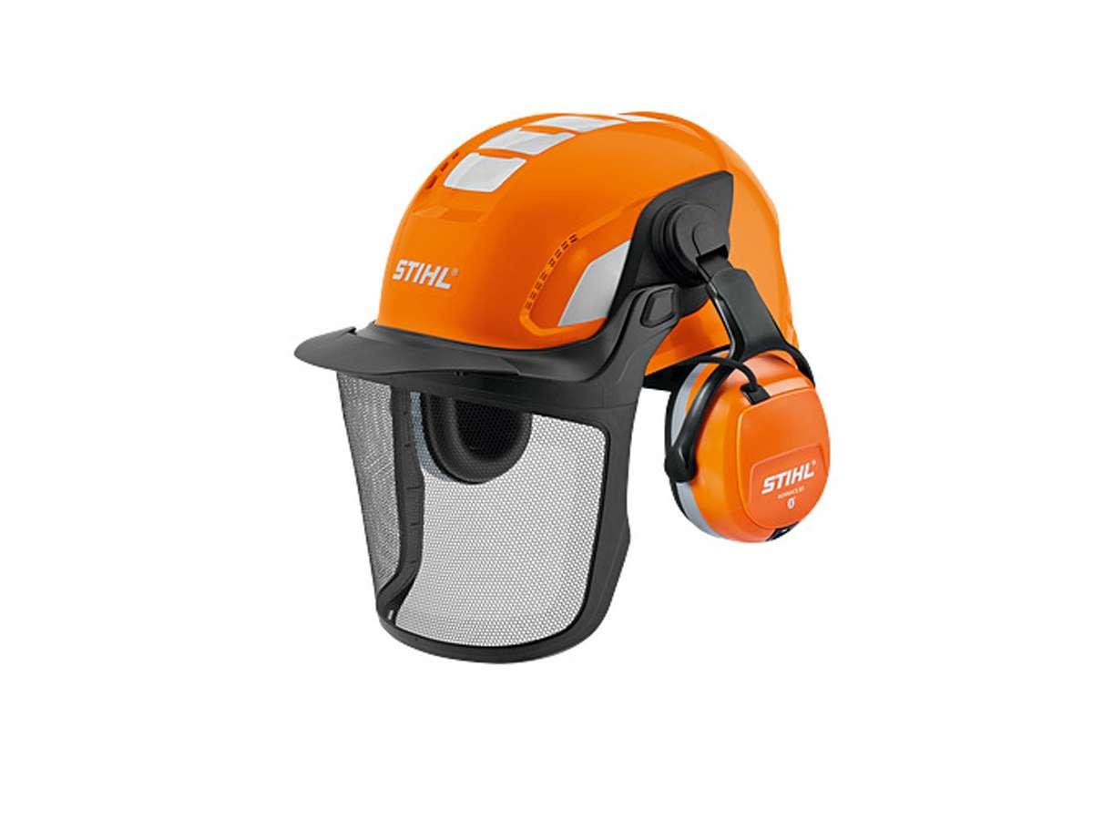 Set casco con Bluetooth ADVANCE X VENT BT - Stihl