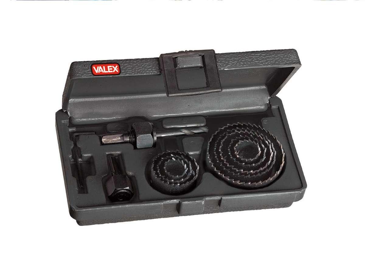 Seghe a tazza serie da 11 pezzi - Valex