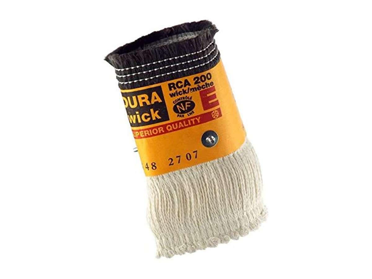 Stoppino in fibra di vetro RCA 200 E - Dura Wick