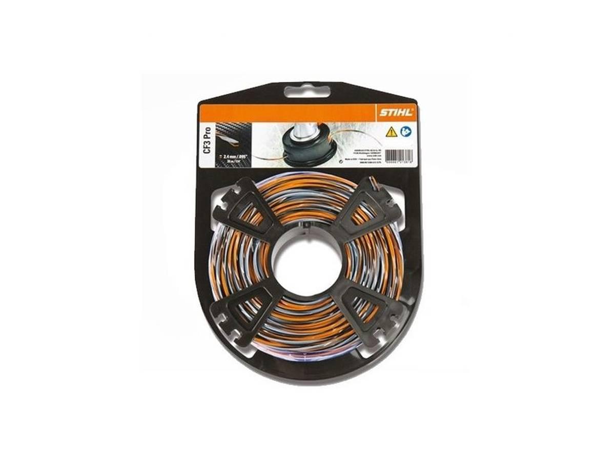 Filo hi-tech per decespugliatore CF3 PRO Ø 2,4 mm - Stihl