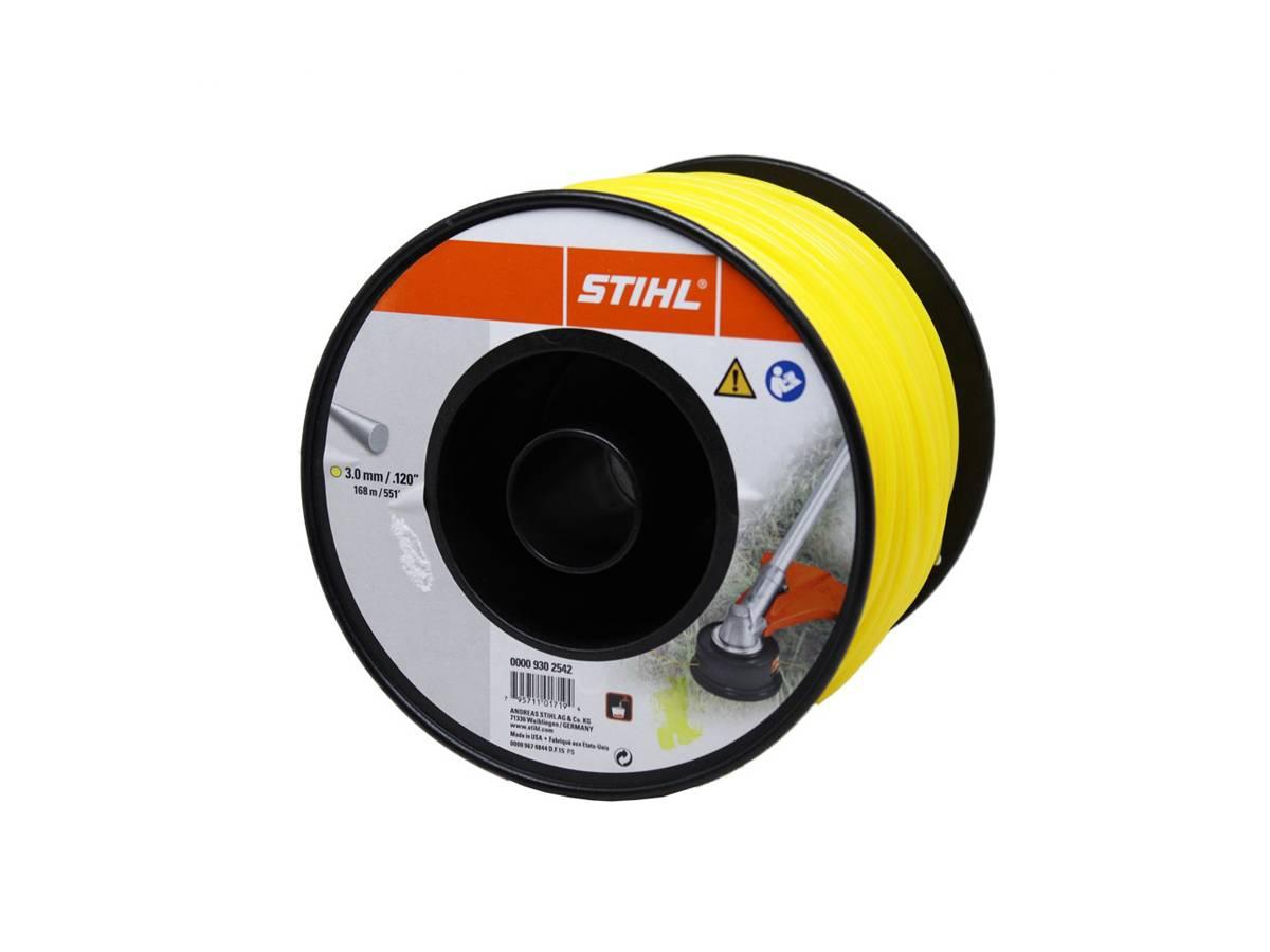 Filo tondo in nylon per decespugliatore Ø 3,0 mm giallo - Stihl dettaglio